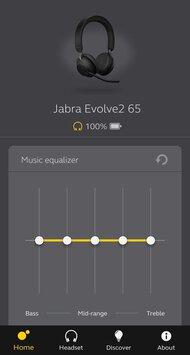 Jabra Evolve2 65 Wireless App Picture