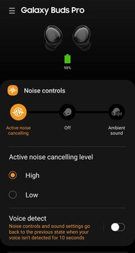 Samsung Galaxy Buds Pro Truly Wireless App Picture