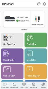 HP ENVY Pro 6475 App Printscreen