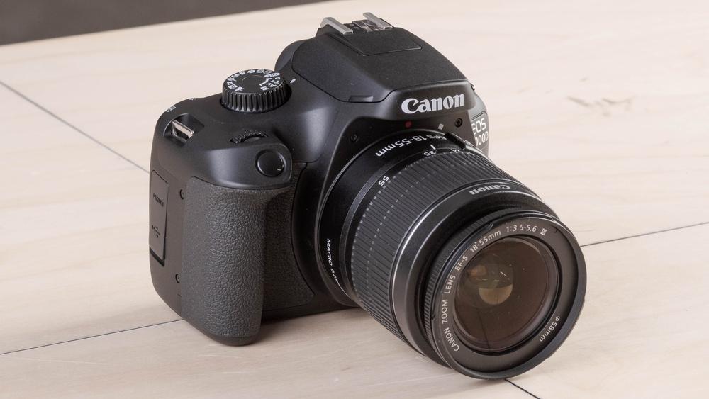 Canon EOS Rebel T100 / EOS 4000D Picture