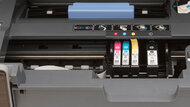 HP OfficeJet Pro 8025e Cartridge Picture In The Printer