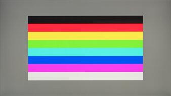 LG 27GN880-B Color Bleed Horizontal