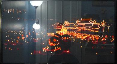 Samsung F5300 Dark scene in a bright room