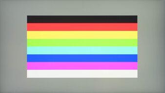 MSI Optix G273QF Color Bleed Horizontal