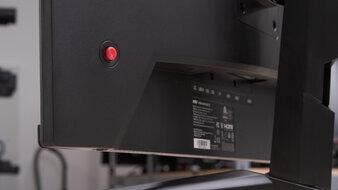 MSI Optix MAG273R Controls Picture