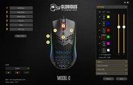 Glorious Model O Software settings screenshot