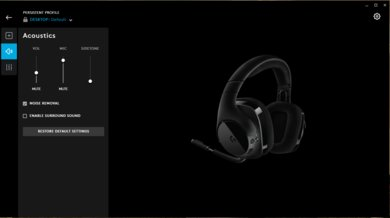 Logitech G533 Wireless Gaming Headset App Picture