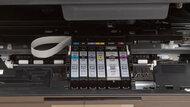 Canon PIXMA TS9120 Cartridge Picture In The Printer