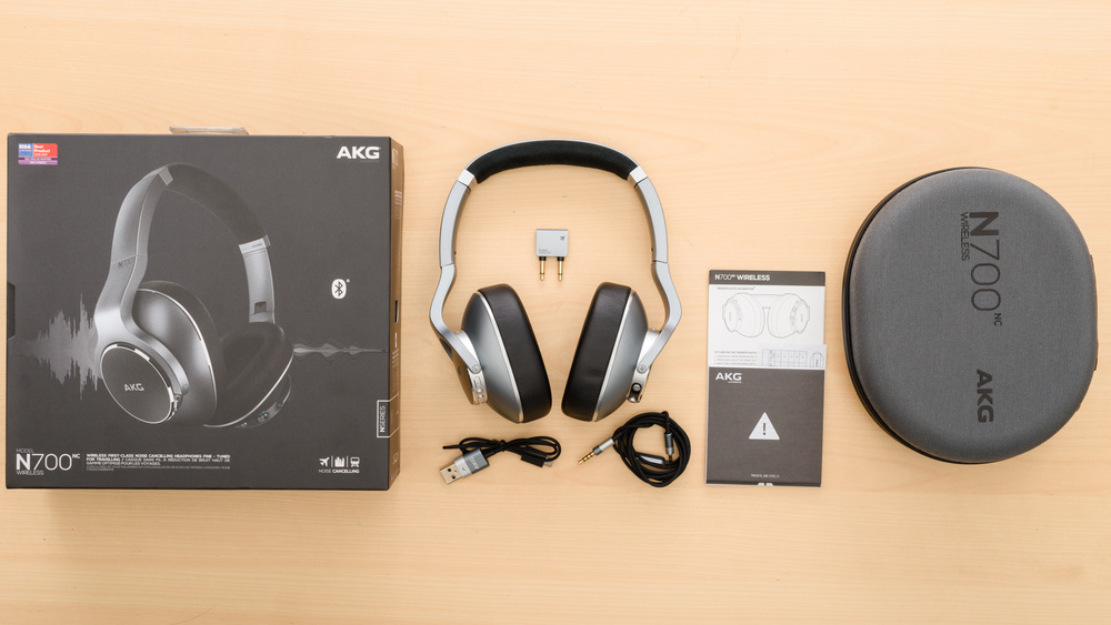 AKG N700NC Wireless In the box Picture