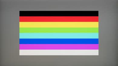 Dell U2518D Color bleed horizontal