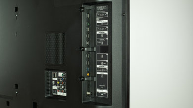 Sony X810C Side Inputs Picture