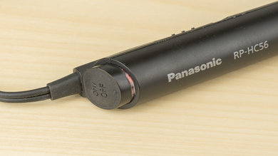 Panasonic RP-HC56 Controls Picture