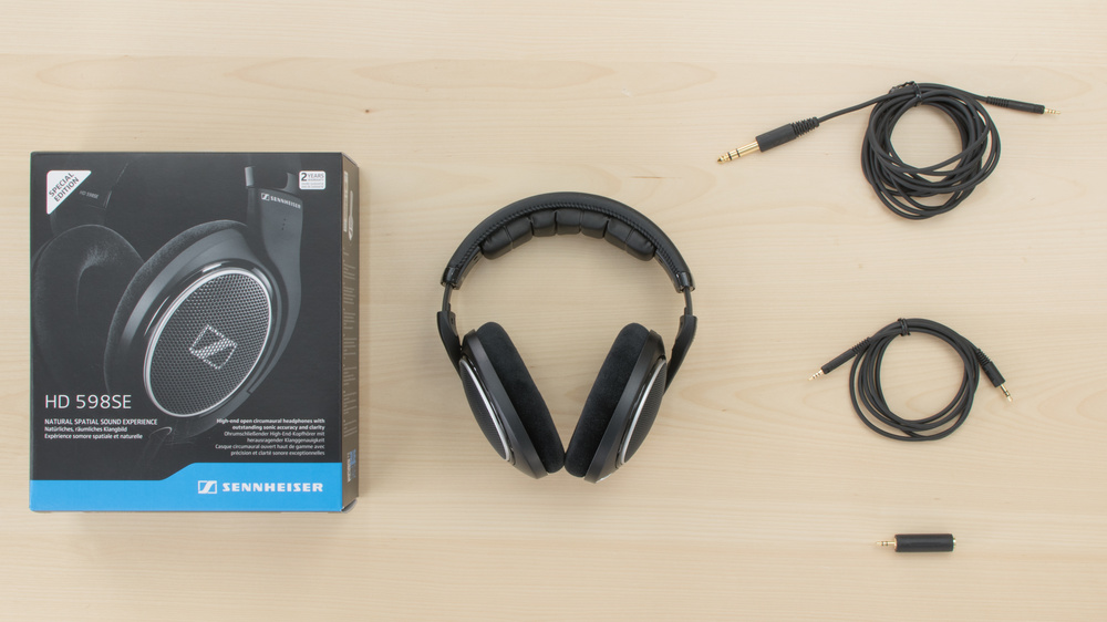 Sennheiser HD 598 In the box Picture