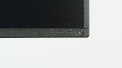 Dell P2417H Controls picture