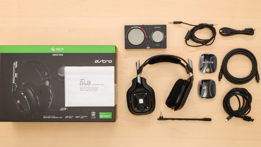 Astro A40 TR Headset + MixAmp Pro 2019 In the box Picture