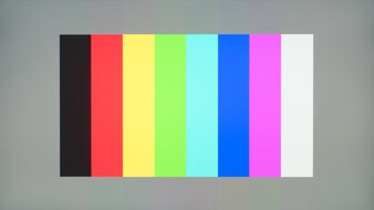 BenQ EX2780Q Color Bleed Vertical