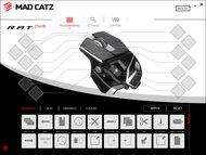 Mad Catz R.A.T. DWS Software settings screenshot