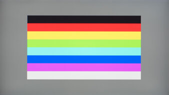 LG 27GN750-B Color Bleed Horizontal