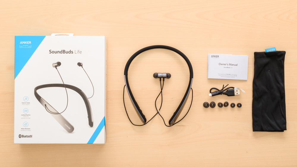 Anker SoundBuds Life Wireless In the box Picture