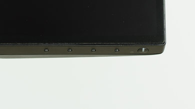 Dell U2717D Controls picture