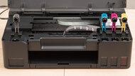 Canon PIXMA G1220 Cartridge Picture In The Printer