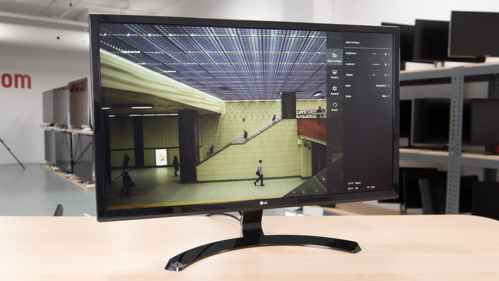 LG 27UD58-B Design Picture