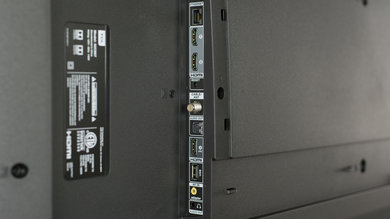 TCL C807 Side Inputs Picture
