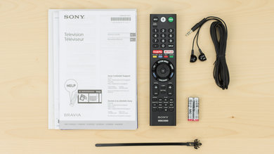 Sony X850E In The Box Picture