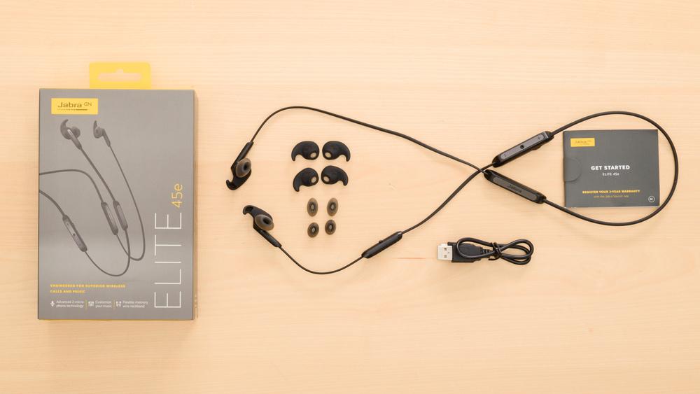 Jabra Elite 45e Wireless In the box Picture