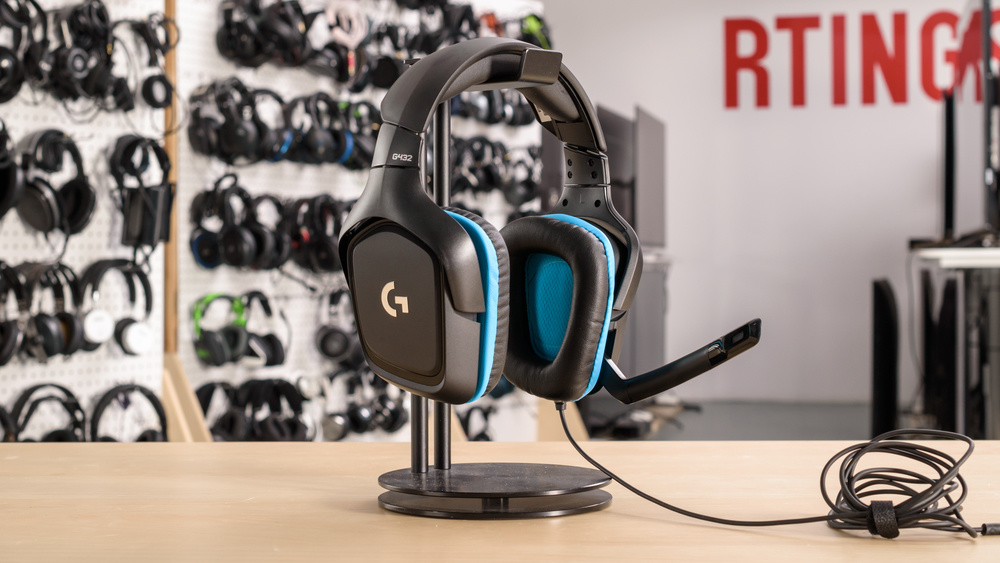 Logitech G432 Gaming Headset Design Picture