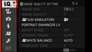 Fujifilm X-T200 Screen Menu Picture