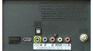 LG LN5300 Rear inputs
