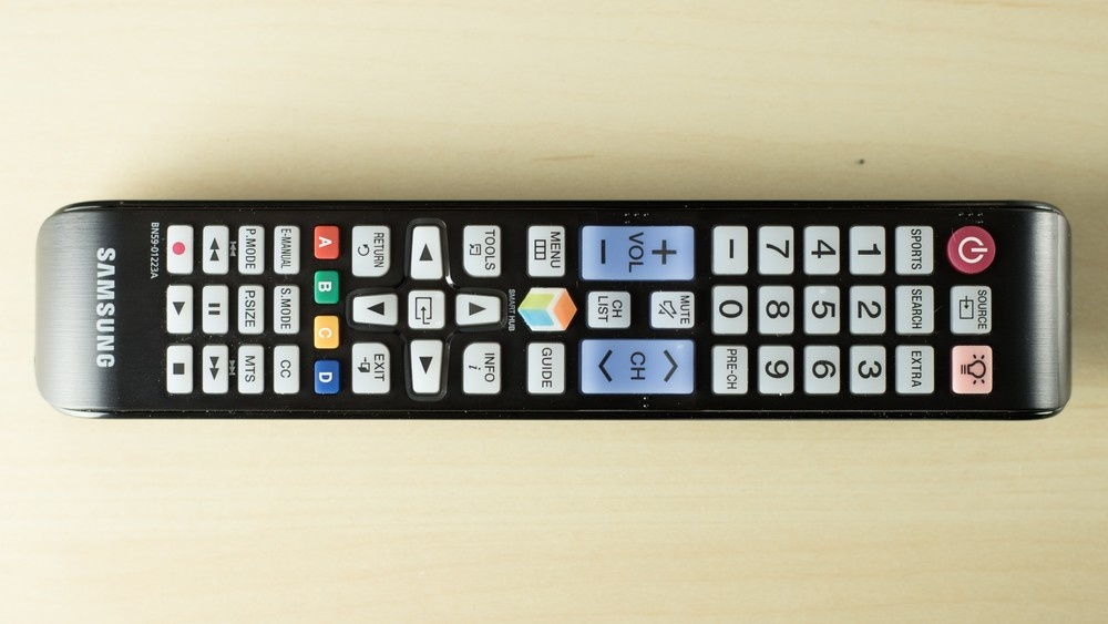 Samsung Smart TV  Basic Remote