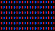 LG B8 OLED Pixels Picture