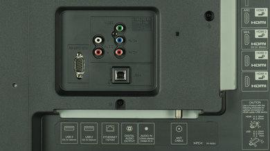 Sharp UH30U Rear Inputs Picture