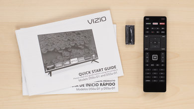Vizio D Series 4k 2016 In The Box Picture