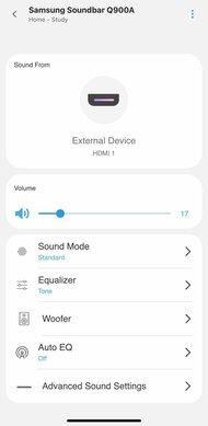 Samsung HW-Q900A App image