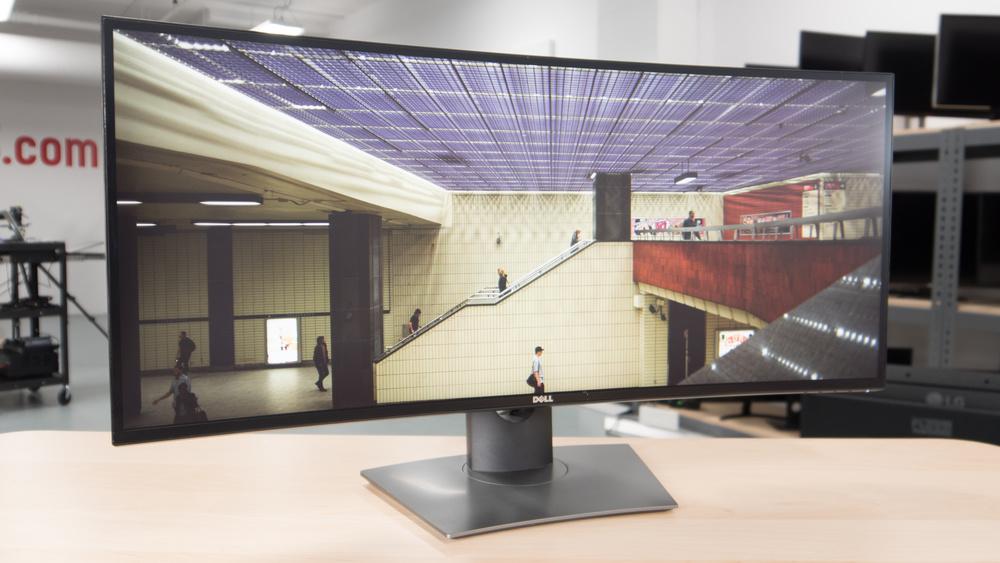 Dell U3417W Picture