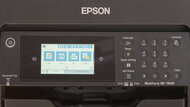 Epson WorkForce Pro WF-7840 Display Screen Picture