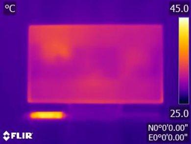Sony X930E Temperature picture