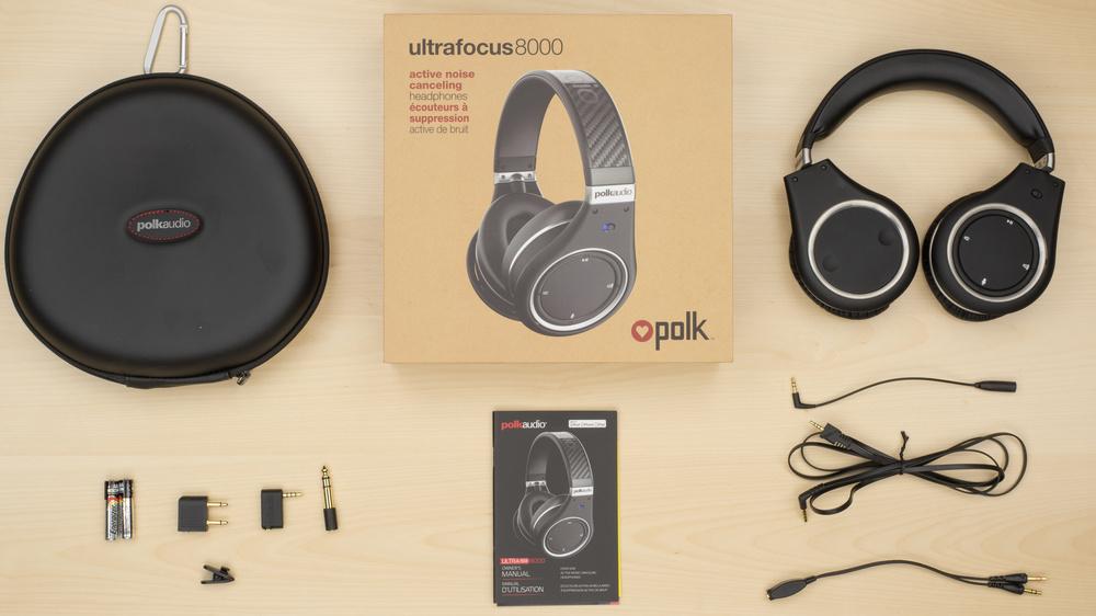 Polk Audio UltraFocus 8000 In the box Picture