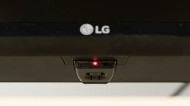 LG LJ5500 Controls Picture
