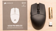 Corsair KATAR PRO Wireless In the box picture