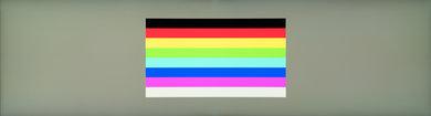 Samsung CHG90 Color bleed horizontal
