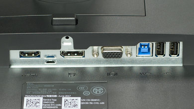 Dell P2217H Inputs 1