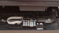 Canon PIXMA TR8620 Cartridge Picture In The Printer