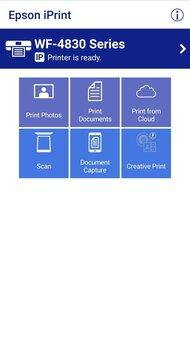 Epson WorkForce Pro WF-4830 App Printscreen
