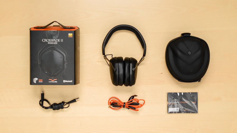 V-MODA Crossfade II Wireless In the box Picture