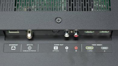 Vizio E Series 1080p 2016 Rear Inputs Picture