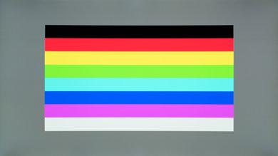 Samsung CHG70 Color bleed horizontal